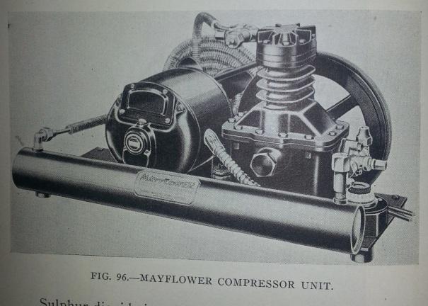 Mayflower-Compresor