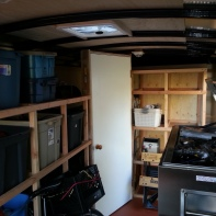 Enclosed Trailer Organising