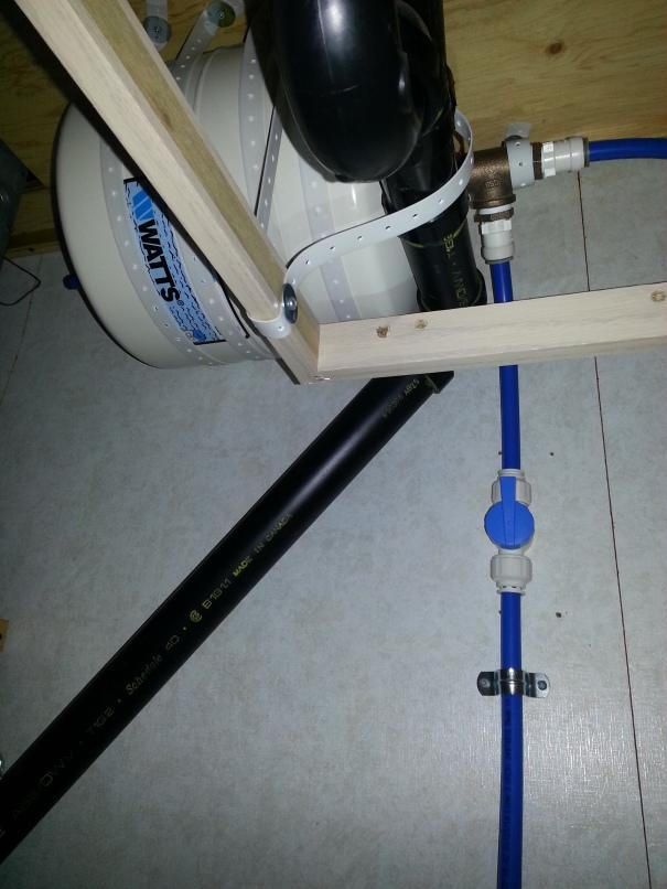 pressure tank under sink