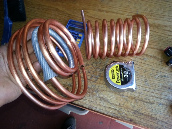 coiling copper